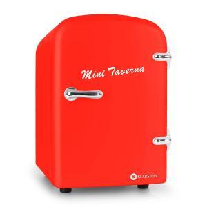 Bella Taverna Mini Frigo Bar Caldo/Freddo 4 Litri Rosso rosso