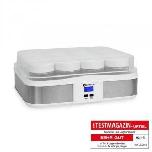 Image For Gaia macchina per yogurt acciaio inox bianco