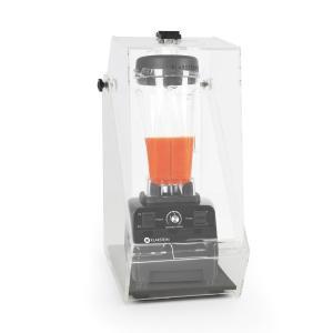 Herakles 3G Frullatore da Tavolo Nero con Cover 1500 W 2,0 PS 2 Litri senza BPA