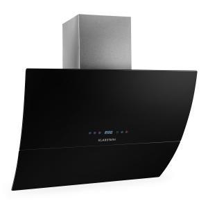 RGL90BL cappa di aspirazione 90cm 550m³/h vetro nera nero | 90