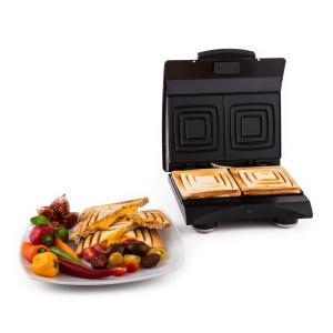 Sandwich Buddy Scalda panini 700 W2 superficie riscaldante in acciaio inox rossa