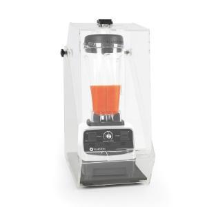 Herakles 3G Frullatore da Tavolo Bianco con Cover 1500 W 2,0 PS 2 Litri senza BPA