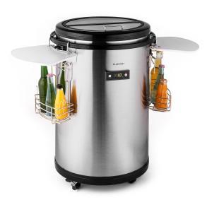 Mr. Barbot frigo bar 50l A+ Argento
