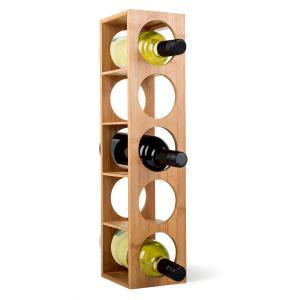 Rack No.3 scaffale vino bambù impilabile