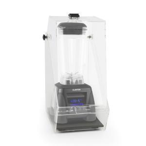Herakles 8G Frullatore Nero con Cover 1800W 2,4 CV 2 Litri senza BPA