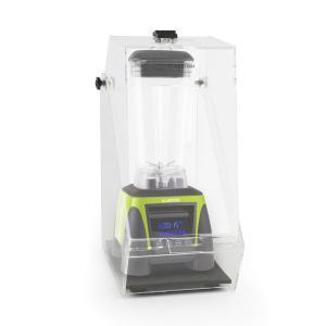 Herakles 8G Frullatore Verde con Cover 1800W 2,4 CV 2 Litri senza BPA