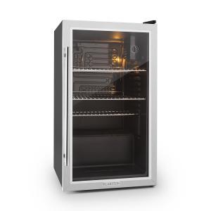 Beersafe XXL Frigorifero 85 Litri Classe A+ Porta in Vetro argento | 80_litres
