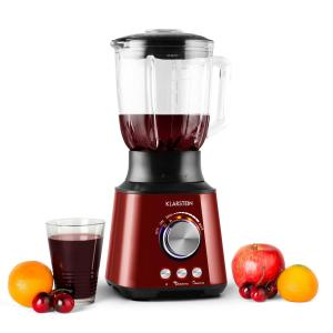 Herakles frullatore 1000W 1,5 L Green Smoothie Inox rosso rosso