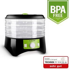 Appleberry essiccatore nero/verde 400W Libero da BPA nero