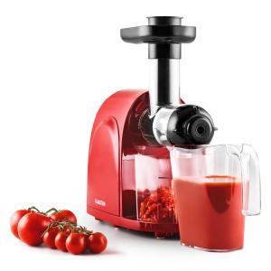 Slowjuicer Spremiagrumi per Succhi 150W 80 giri/m rosso-nero rosso