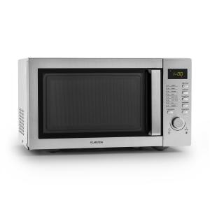Steelwave Forno a Microonde 23l 800W Acciaio Inox