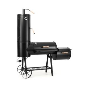 Monstertruck Smoker Grill BBQ Affumicatore Acciaio Nero