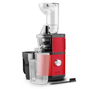 Fruitberry Slow Juicer 400W 60U/min Acciaio Inox Rosso rosso