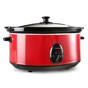 Bristol 65 Slow Cooker Cuocivivande 6,5 Litri 300W Rosso
