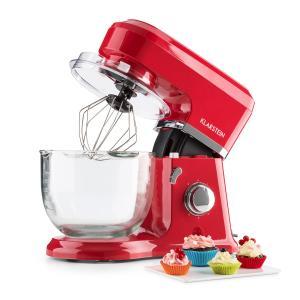 Allegra Rossa Robot da Cucina 800 W 3 l Contenitore in Vetro Rosso rosso