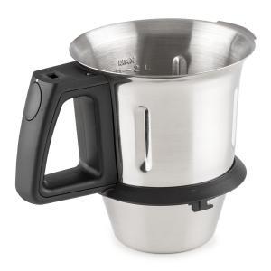 Kitchen Hero Shaker Per Robot Da Cucina Pezzo Di Ricambio 2l Acciaio Inox