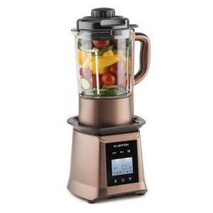 Herakles Heat Mixer per Zuppe 1300W/1,7PS 900W 1,75l senza BPA Vetro Caffè bronzo