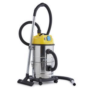 Reinraum 3 in 1 Aspiratore polvere/liquidi 1800W 30l Acciaio inox