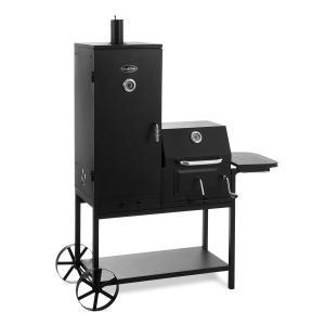 Fleischbrocken Grill a Carbone di Legna Smoker Affumicatore BBQ-Grill nero