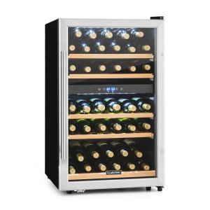 Vinamour 40D Cantinetta Vino 2 Zone 135 L 41 Bottiglie Acciaio inox