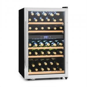 Image For Vinamour 40D Cantinetta Vino 2 Zone 135 L 41 Bottiglie Acciaio inox