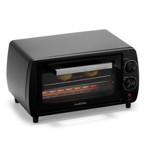 Minibreak Mini Forno 11l 800W 60min Timer 250°C nero nero