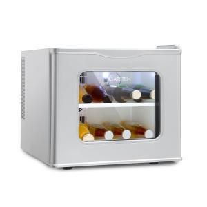 Winehouse Minibar 17 Litri 60 W Classe A++ Porta di Vetro Argento argento
