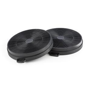 Filtro a Carboni Attivi Cappe Aspiranti 2 Pezzi Ricircolo Ø206mm