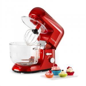 Bella Rossa 2G Robot Da Cucina 800W 2,5/5 Scodella In Vetro Rosso