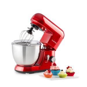 Klarstein Bella Pico Mici Robot da Cucina 800 W 1,1 PS 6 Livelli 4 Litri Rosso