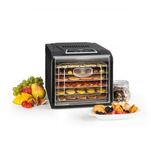 Fruit Jerky Plus 6 Essiccatore Timer 6 Ripiani Piastra 420-500 W Nero 6 scomparti