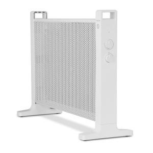 Klarstein HeatPalMica20 Stufa Elettrica Mica 2 Livelli Di Calore 2000W Bianco