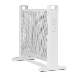 Klarstein HeatPalMica15 Stufa Elettrica Mica 2 Livelli Di Calore 1500W Bianco