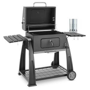 Bigfoot Set Grill a Carbonella BBQ Smoker + Accenditore Elettrico