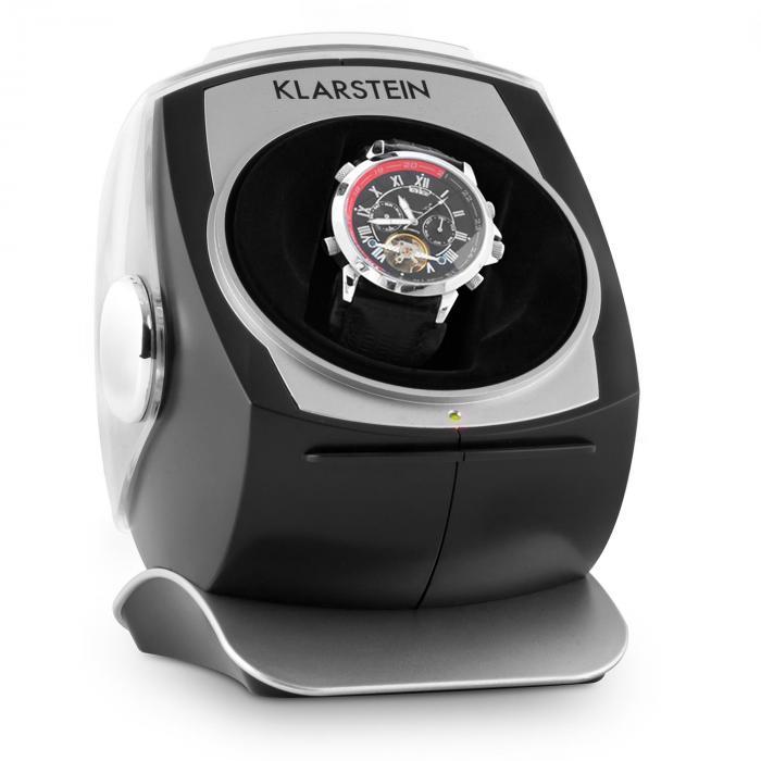 Senna carica orologio con movimento orario antiorario nero - Porta orologi automatici ...