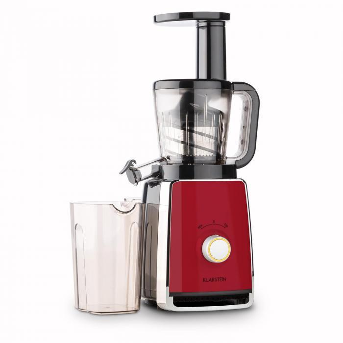 Klarstein Sweetheart Slow Juicer Estrattore : Sweetheart Estrattore Slow Juicer 150W 32U/min Rosso rosso Klarstein