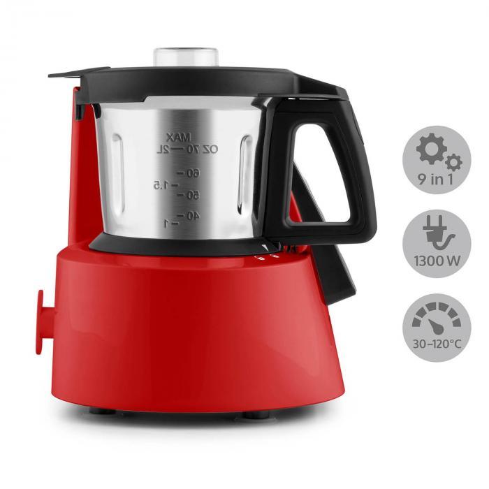 Kitchen Hero 9-in-1 Robot da Cucina 2l 600/1300W Rosso rosso ...