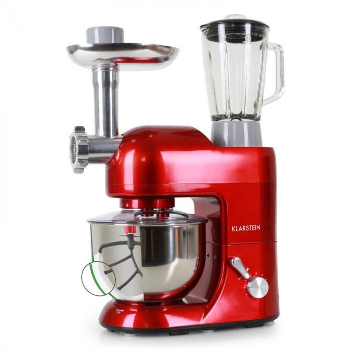 lucia rossa robot da cucina tritacarne mixer | klarstein - Macchine Da Cucina