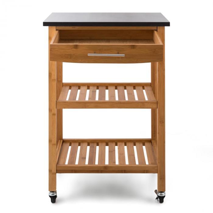 Tennessee carrello da cucina portavivande trolley 3 piani for Tavolini piccoli da cucina