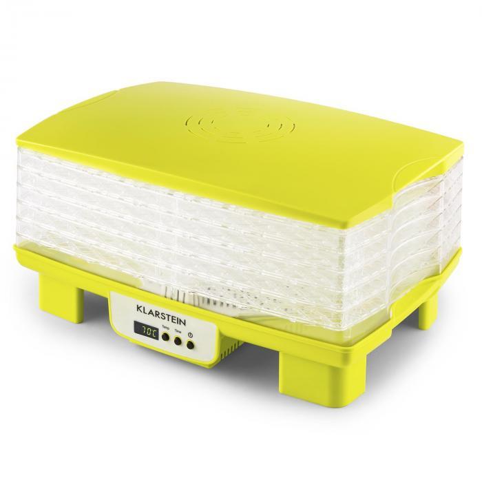 bananarama essiccatore 550w giallo verde klarstein. Black Bedroom Furniture Sets. Home Design Ideas
