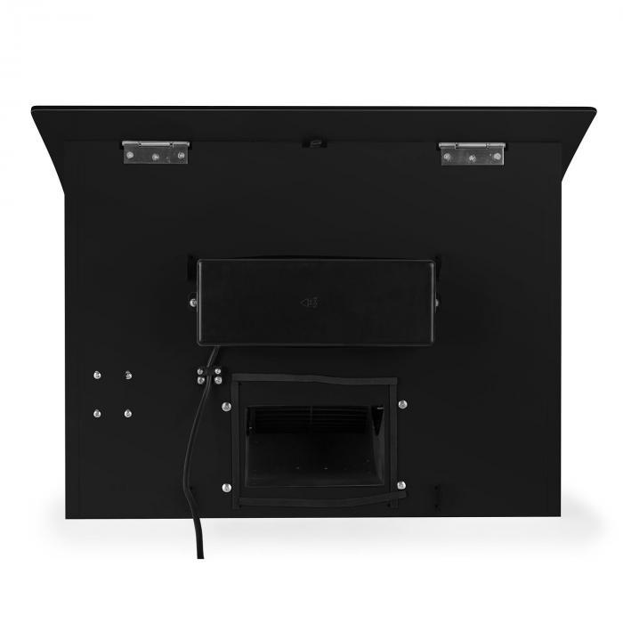 Rgl60bl cappa di aspirazione 60cm 500m h vetro nera nero - Aspirazione cappa cucina ...